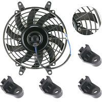 9'' 80W Car Electric Radiator Intercooler 12V Slimline Cooling Fan Push Pull