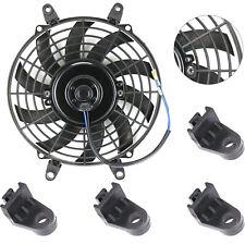 "9"" Electric Radiator Cooling Fan Push Pull  Universal Slim Mounting Kits"