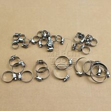 30 Piece Hose Clamp Jubilee Clip Set Assorted Stainless Steel Hose Clamps