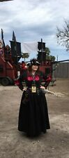 Pirate Black Overdress With Removable Sleeves L