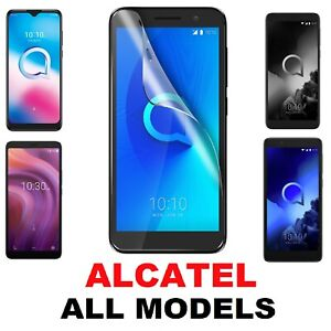 SCREEN PROTECTOR COVER GUARD FILMS For ALL Alcatel Phone Models