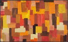 Johannes Itten (Suisse, 1888-1967) Attribution Ancien Tableau Peinture Huile
