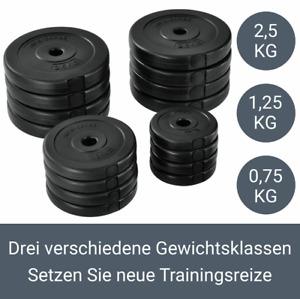 Hantelset 30kg Hantel Kurzhanteln Set Hantelscheiben*Krafttraining
