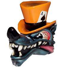 Wolf w/ Orange Top Hat shift knob automatic M8x1.25