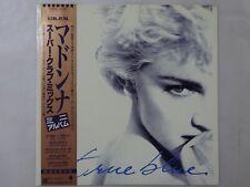 Madonna True Blue (Super Club Mix) Portrait P-6244 Japan  VINYL EP OBI