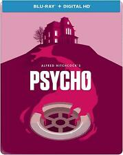 Alfred Hitchcock's Psycho (Blu-ray Disc, 2014, Limited Edition Steelbook)