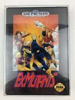 Ex-Mutants Sega Genesis Game Tested Works Complete CIB