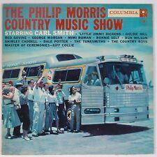 PHILIP MORRIS Country Music Show: Carl Smith COLUMBIA 6-EYE Vinyl LP VG++