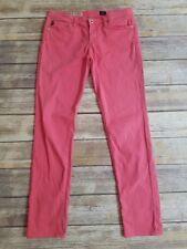 AG The Stilt Cigarette Jean for CALYPSO St. Barth Pink Skinny Jeans 28 x 30