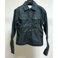 ISSEY MIYAKE FINAL HOME Unusual Denim Jacket Size XS USED Rare Japan FedEx [K]