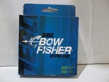 Zebco Bow Fisher Bowline 200 lb test 100 yards green Nip