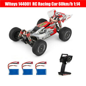 Wltoys 144001 RC Racing Car High-speed 60km/h 1/14 2.4GHz 4WD Off-Road Buggy Car