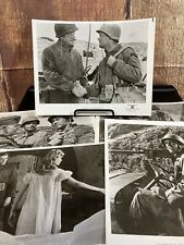 1958 Darby's Rangers Lot Of (5) Press Movie Photos James Garner