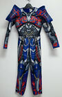 Transformers Optimus Prime Boys Muscle Chest Halloween Costume Size M Blue