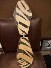 Street Surfing 2-Wheeled Wave Board Rider Wooden Deck. skateboard