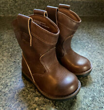 Toddler Boys Brown Cowboys Boot Size 7 Cat And Jack Hunter