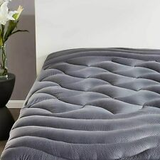 Queen Size Mattress Pad Cover Memory Foam Pillow Top Cooling Overfilled Topper
