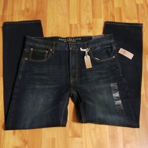 American Eagle Slim Straight Jeans Size 36x32