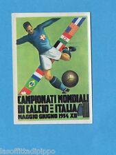 ARGENTINA'78 - PANINI - Figurina n.5- ITALIA 1934 - MANIFESTO -Recuperata
