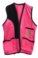 GDK PINK Skeet vest, trap, shooting, clothing, competition standard,casual wear
