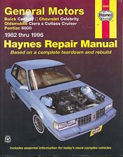GM A-Car, 1982-1996 by John Haynes and Haynes Publications Staff (1997, PB)