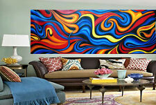 "106"" Huge Urban Aboriginal Art Modern Painting Abstract Canvas  COA By Jane"