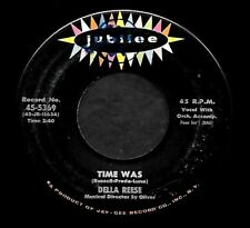 """DELLA REESE """"TIME WAS/Once Upon A Dream"""" JUBILEE 5369 (1959) 45rpm SINGLE"""