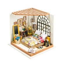 Creative DIY Dollhouse Kit Miniature Dreamy Bedroom Kits to Build Great Toy