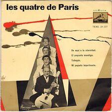 LES QUATRE DE PARIS 50'S EP LA VOZ DE SU AMO 28.137