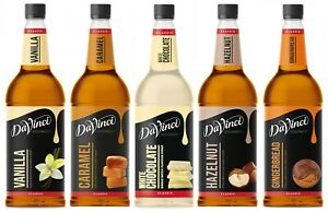 Da Vinci Gourmet Flavour Sirup 1 x 1L nach Wahl, Kaffeesirup, Bar, Aroma, Flavor