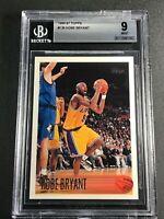 KOBE BRYANT 1996 TOPPS #138 ROOKIE CARD RC BGS 9 MINT LOS ANGELES LAKERS NBA HOF