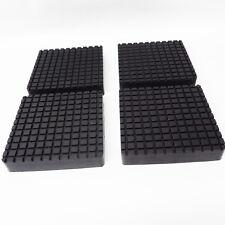Rubber lift pad set Bendpak 2 post square slip on style 5715365x