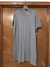 Time and Tru Women's Gray Tee Shirt Knit Dress, Size: XL NWT