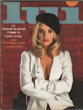 """LUI n°51 mars 1968"" Marie-France BOYER par Frank GITTY"