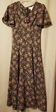 PASTILLE - Floral Lined Short Sleeve Maxi Dress Size 2    IR13