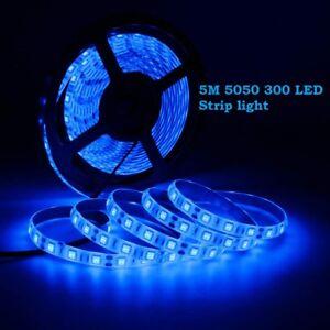 Bright 12V 5M 16.4ft 5050 RGB Waterproof SMD 300 LED Flexible Strip light