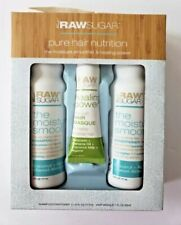 Raw Sugar Pure Hair Nutrition Hair Trio Set: Moisture Smoothie & Healing Power