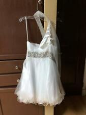 May Queen Couture White Dress Size 6 Previously owned