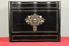 New listing Antique French Wood Tantalus Hidden Liquor Cabinet/Decanters/Glasses Set 1800's
