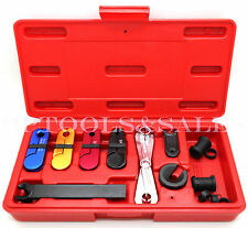 8 Pc Fuel & Transmission Line Disconnect Tool Set  Automotive Shop Tank Filters