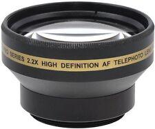 2.2x Alta Definición Lente Telefoto para Sony DCR-SR57E DCR-SR77E