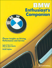 BENTLEY BMW ENTHUSIAST COMPANION WORKSHOP SERVICE REPAIR OWNERS MANUAL BOOK