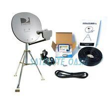 DIRECTV Triple LNBF Satellite Dish Tripod Kit  for RV Tailgating - 3