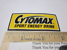 CYTOMAX ENERGY DRINK Mountain Road Bike STICKER DECAL