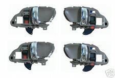 New CHEVY GMC Truck Set 4 Inside Door Handles GREY Chrome LH Driver RH Passenger
