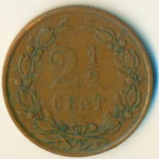 COIN / THE NETHERLANDS / 2 1/2 CENT 1880  #WT6575