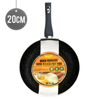 High Quality Aluminium Non-Stick Fry Pan 20cm Induction Bottom 2.5mm Grey Handle