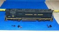 HO Athearn Winchester and Western 758 Engine Locomotive Tested Rare