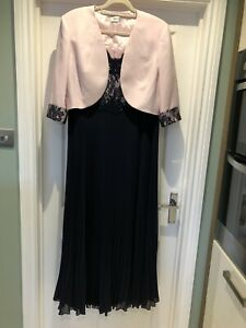 Condici Mother Of The Bride Dress & Jacket SZ 20 Navy/Pink BRAND NEW NEVER WORN