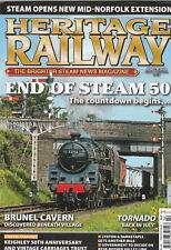 HERITAGE RAILWAY Magazine 1 June 2018 (Issue 242) - End Of Steam 50